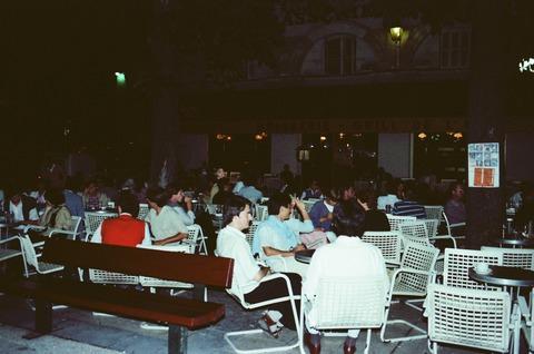 Pジャンジョレスのカフェにて198008 (5)
