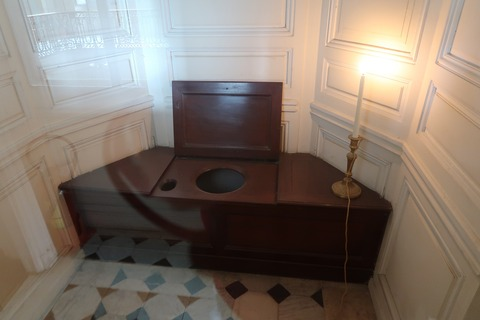 VersaillesPetit Trianon413トイレ後付け