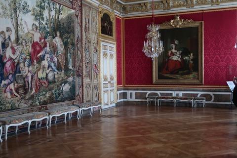 Versailles173王妃の居間とMアントワネットの絵