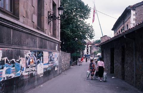 198709バルマセダのバスク州警察前