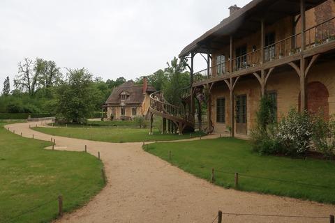 VersaillesPetit Trianon434アモー王妃の家と隣家