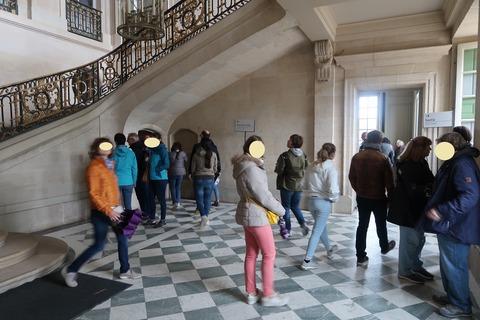 VersaillesPetit Trianon405宮殿1階ホール