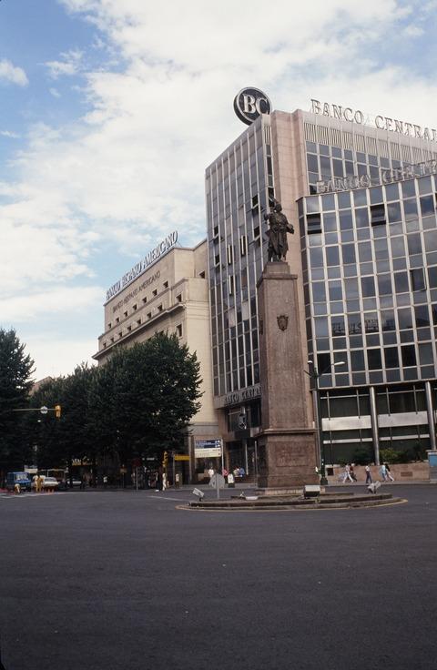 198609ビルバオアバンドのPlazaビルビラ広場