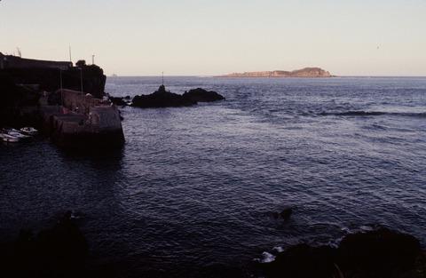 ベルメオMundaka港公園198607夕方のビスケー湾