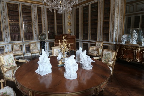 Versailles118ルイ16世の図書室