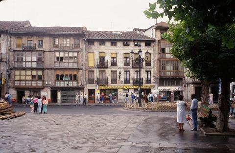 バルマセダ町の中心部198708 (2)