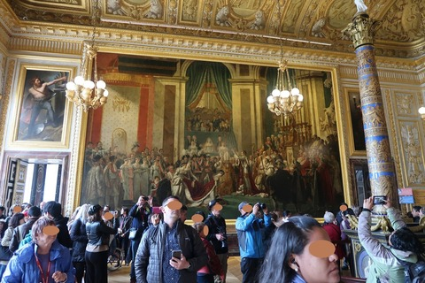 Versailles174ナポレオンの戴冠ダヴィドのベル版