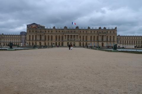 Versailles207宮殿を正面に見て