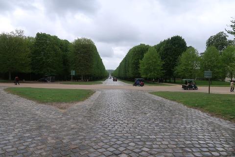 VersaillesPetit Trianon401森の長い道15分