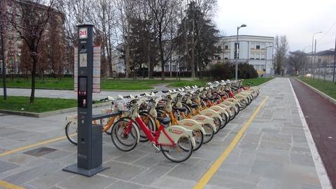 BuonarottiのAmendora共有自転車