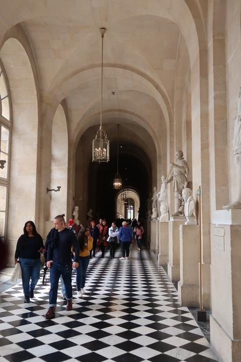 Versailles177戦争画裏の美しい回廊