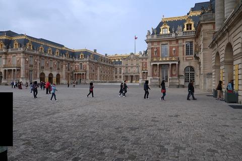 Versailles自由見学と正面