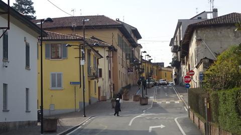 外レッコTrezzo sull'Adda街並み201803