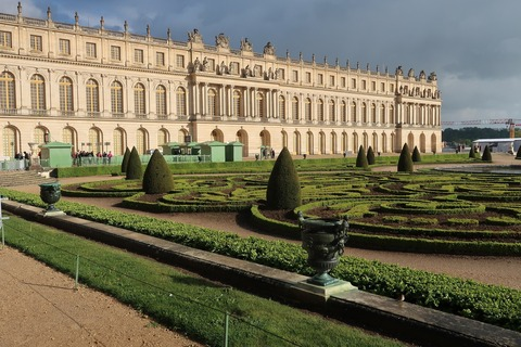 Versailles209A夕暮れの宮殿
