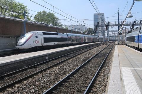 TGVouiモンパルナス駅20190430