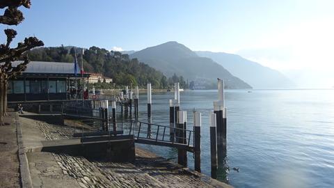 外レッコ奥ベラージョのコモ湖 (2)