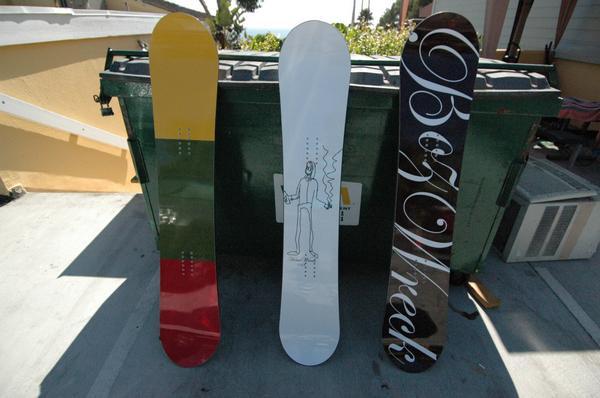pigeon news:BozWreck Snowboards