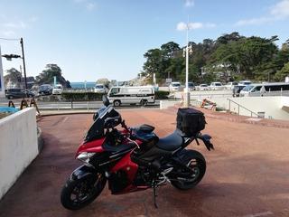 堂ヶ島駐輪場