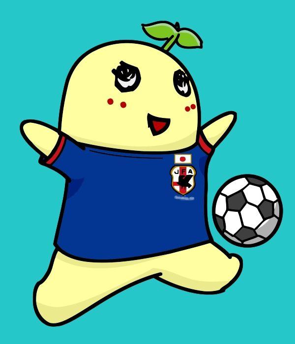 サッカーふなっしー700