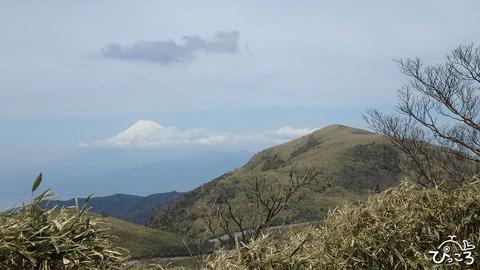 0406_だるま山と富士山