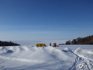 20130225雪の中でのキャンプ