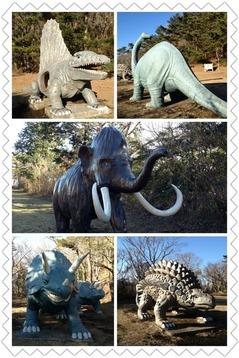 恐竜いっぱい