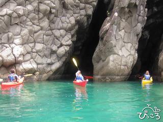 711洞窟探検@西伊豆カヤック