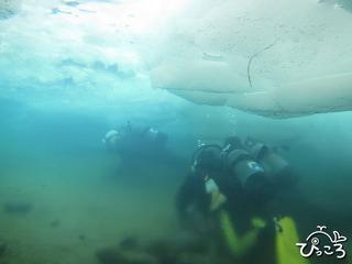 20130224アイスダイビング2