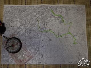 二万五千分の一地形図