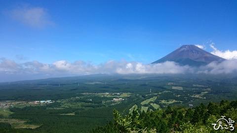 越前岳からの富士山
