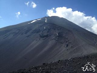 7/30 宝永山からの富士山頂