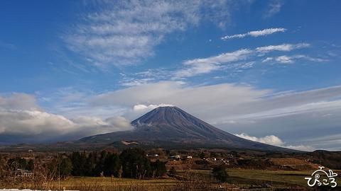 富士ヶ嶺から見た富士山