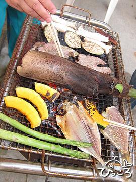 竹の子BBQ