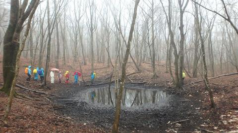 朝霧高原 池