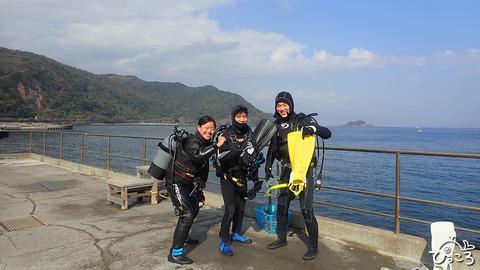 今日は川奈で潜ってきました!
