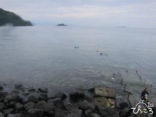 今日の川奈ビーチ