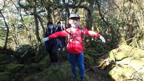 お子様に人気の登山道_PB2100