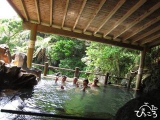 混浴の裏見ヶ滝温泉