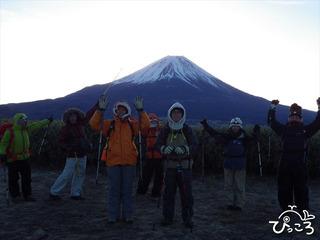 2013-1-6 竜ヶ岳山頂到着