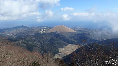 矢筈山からの大室山