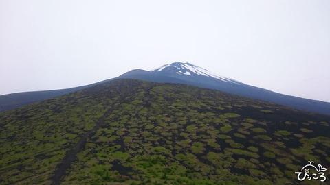 0618富士山と宝永山と上双子