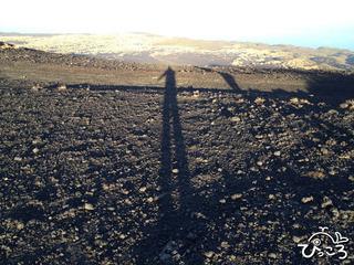 2012-12-16長い影@裏砂漠