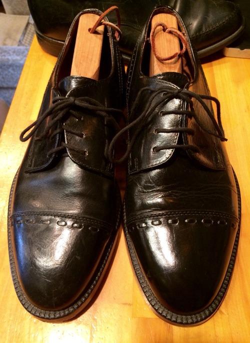 Shiney shoes shiney day