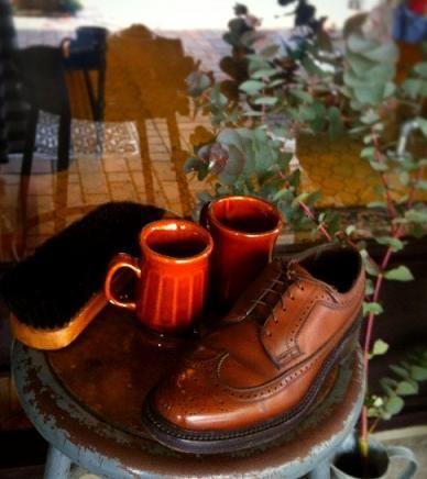 GW恒例「靴磨き隊」