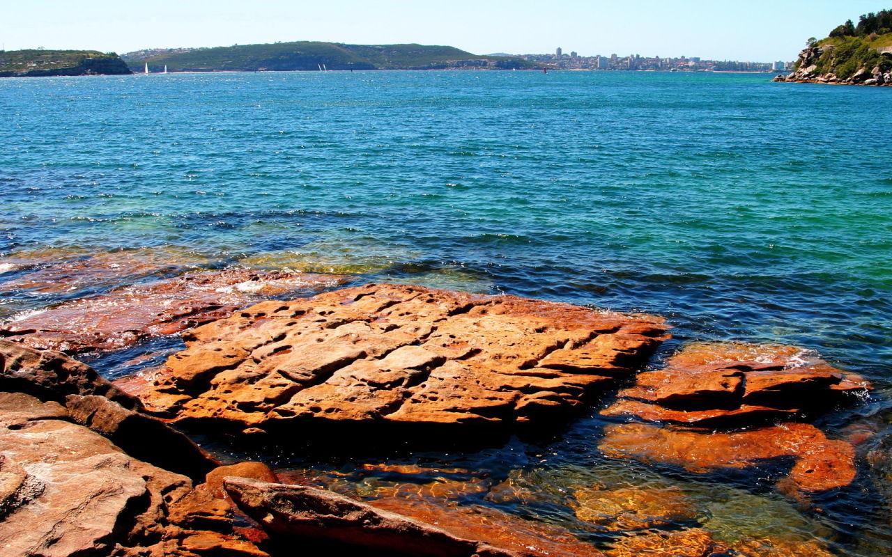 オーストラリア シドニーの海 壁紙用写真 壁紙写真pimix