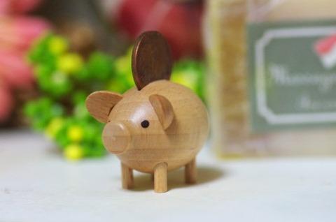 木製ブタ十円玉a1380_000211