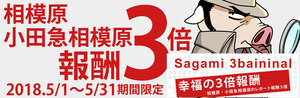 5月レポ報酬3倍幸福の3倍報酬Sagami3baininal