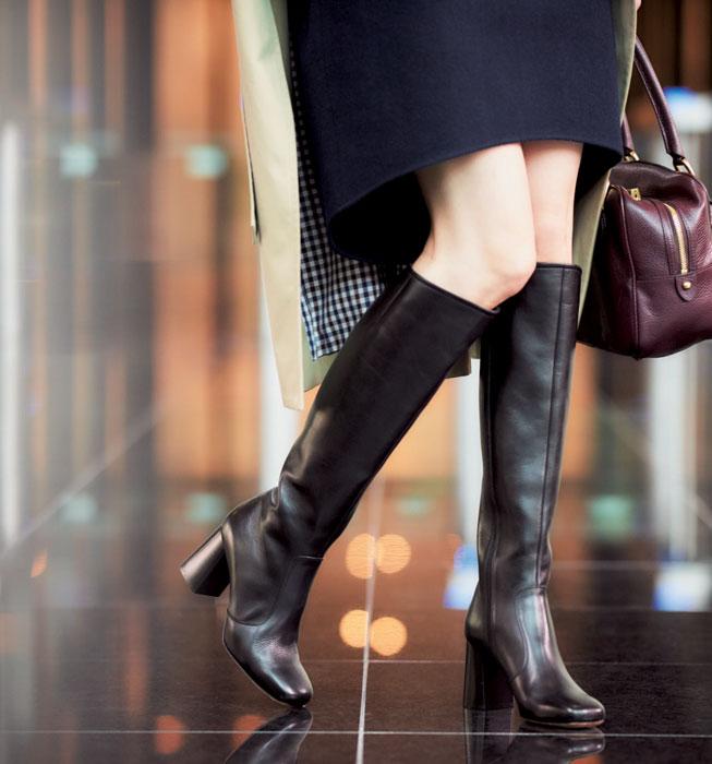 ロングブーツ 流行ってないけど履いてしまう40代の既婚女性