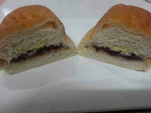 福田パン メニュー組み合わせ あんバターのカロリー2