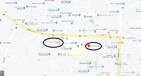 駐車場盛岡南イオン周辺にある食パン専門店のがみにしかわ